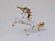 Сувенир Единорог. Венецианское стекло. Италия