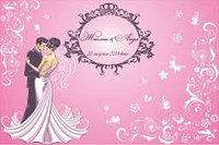 Press Wall для свадьбы 3*2 м