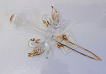 Сувенир Нож для бумаги. Венецианское стекло, Италия