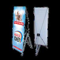 Х-баннер разного размера