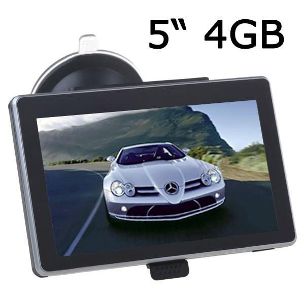 Автомобильный GPS Навигатор 5 дюймов