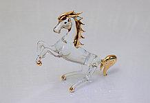 Статуэтка Лошадь. Венецианское стекло, ручная работа, Италия