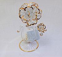 Сувенир Роза. Венецианское стекло, Италия, ручная работа