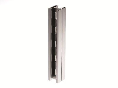 Двойной С-образный профиль 41х41, L2000, толщ.2,5 мм