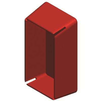 Заглушка торцевая для одиночного С-образнго профиля 41х21 мм