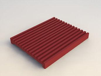 Прокладка силиконовая термостойкая для кабельных держателейBHR