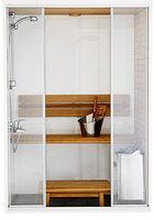 Сауны для ванной комнаты CAPELLADUAL с душем Harvia SC1410D в Алматы