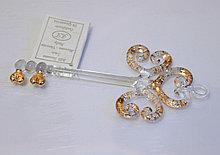 Сувенир Золотой Ключ. Венецианское стекло. Италия. Ручная работа