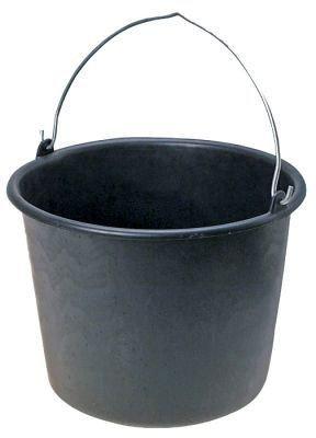 ВЕДРО пластмассовое 12л строительное(черное), фото 2