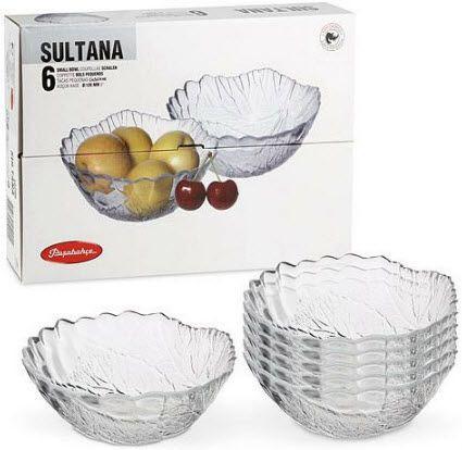 Набор салатников Sultana Pasabahce 6 шт (10286/6)
