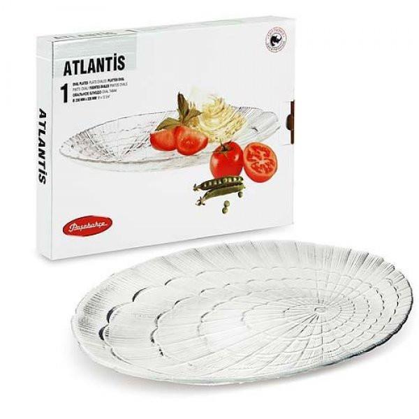 Блюдо овальное стеклянное Pasabahce Atlantis 23х32 см (10239/1)
