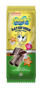 Батончики амарантовые «Спанч Боб» с шоколадной начинкой, в глазури, витаминизированные,безглютеновые 20гр.
