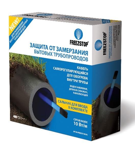 Секция нагревательная кабельная Freezstop Inside-10-10 (теплый пол, греющий кабель)