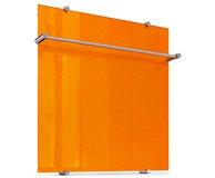 """Полотенцесушитель """"Теплолюкс"""" Flora 60х60 оранжевый (теплый пол, греющий кабель)"""