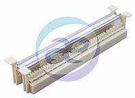 """Кросс-панель  50-парная, тип 110, 10"""", 1U (без коннекторов, настенная)  REXANT"""