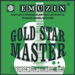 Струны для электро гитары Gold Stаr Mаstrer