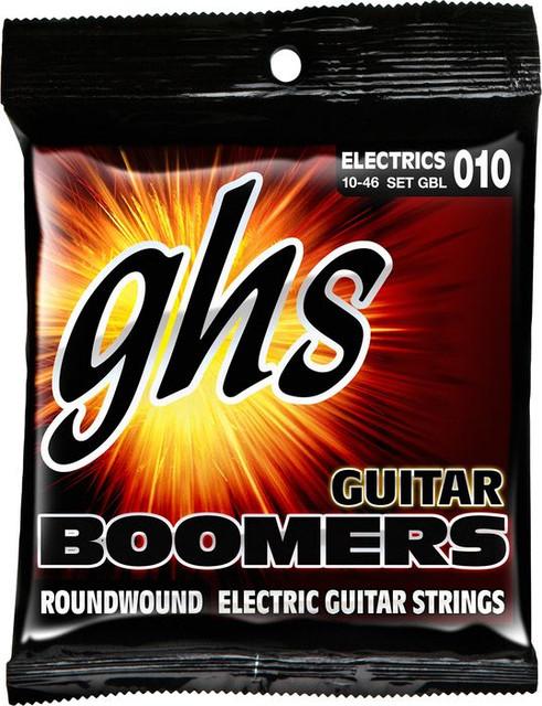 Струны для электро гитары GHS Boomers