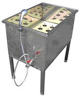 Полуавтомат ополаскиватель тары от 0,5 до 5,0 л