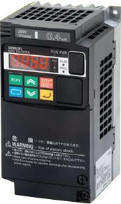 Инвертор MX2,  1.5/2.2кВт, 4.8/5.4А, (3x400В), V/f или векторное управление без датчика