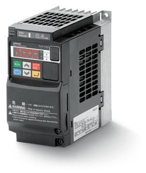 Преобразователь с 220 на 380, Инвертор MX2,  0.2/0.4кВт, 1.6/1.9А, (3x200В), V/f или векторное управление без датчика