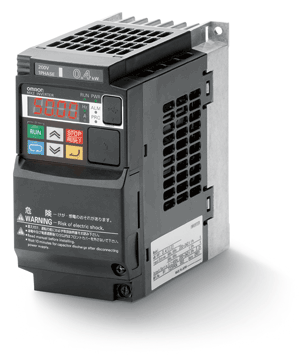 Преобразователь с 220 на 380, Инвертор MX2,  5.5/7.5кВт, 25/30А, (3x200В), V/f или векторное управление без датчика