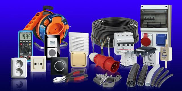 Автоматы, контакторы, реле времени, промежуточные, напряжения, защиты двигателя и т.д.