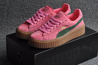 Кеды Puma by Rihanna Suede розовые