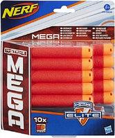 Комплект 10 стрел для бластеров МЕГА