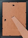 Рамка а4 оптом  серебро с узором 2.5см, фото 2