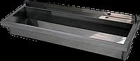 Антивандальная раковина коллективная 5НСт из нержавеющей стали