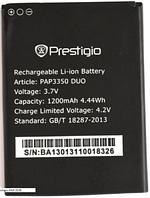 Заводской аккумулятор для Prestigio MultiPhone 3350 Duo (PAP3350 Duo, 1200mah)