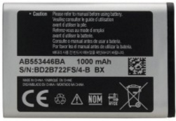 Заводской аккумулятор для Samsung Galaxy C5212 Duos (AB553446BU, 1000mAh)