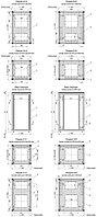 """ZPAS WZ-SZBD-118-G7AA-11-0000-011 Шкаф напольный 19"""", SZBD, 15U, 763х600х600мм (ВхШхГ), стеклянная дверь в стальной раме, крыша (тип1), ножки (4"""