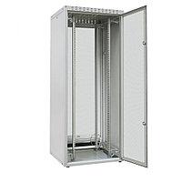 """ZPAS OF-WZ-ECO-24U6060-IIAA-01-0000-011 Шкаф напольный 19"""", ECO-LINE, 24U, 600х600 мм, передняя и задняя стальные перфорир. двери (30%), стальные"""