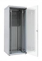 """ZPAS OF-WZ-ECO-24U6080-12AA-01-0000-011 Шкаф напольный 19"""", ECO-LINE, 24U, 600х800мм, стеклянная передняя и стальная задняя двери, стальные"""