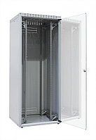 """ZPAS OF-WZ-ECO-47U6080-12AA-01-0000-011 Шкаф напольный 19"""", ECO-LINE, 47U, 600х800мм, стеклянная передняя и"""