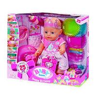 Zapf Creation Baby born  Бэби Борн Кукла Интерактивная Праздничная, 43 см, фото 1