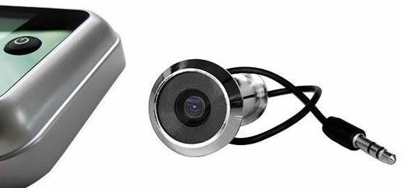 """Внешний блок видеоглазка """"SITITEK Eye"""" выполнен в виде обычного оптического глазка"""