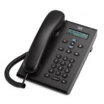 Cisco CP-3905= IP-телефон с 1-й телефонной линией SIP, 2 порта FastEthernet c поддержкой PoE, монохромный LCD