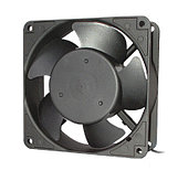 Hyperline KL-FAN-120x120x38-AC220-B28 Вентилятор 120x120x38mm, 230 V, тихий 28dB, подшипник, разъем под шнур