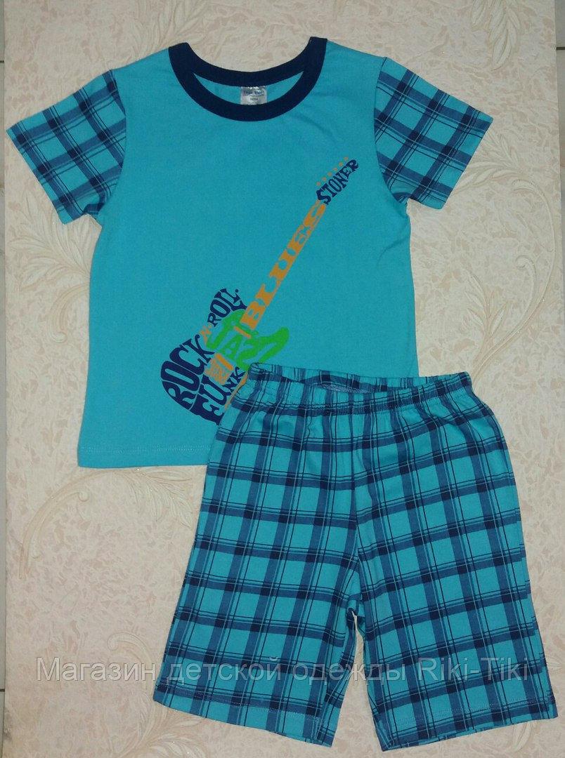 Летняя пижама для мальчика