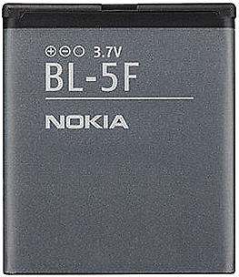 Заводской аккумулятор для Nokia N96 (BL-5F, 950 mAh)