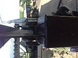 Металлические ворота c экраном из профлиста, фото 3