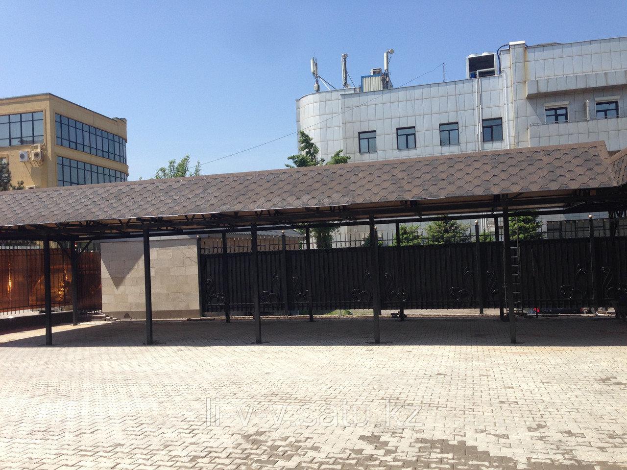 Изготовление любых навесов Алматы
