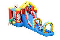 Игровой центр надувной детский HAPPY HOP Цирк 9023 550x220x225cм , фото 1