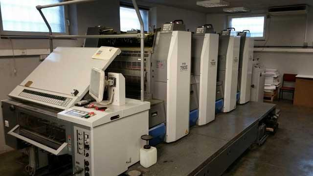 Ryobi 784 б/у 2008г - четырехкрасочное печатное оборудование