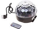 Диско-шар светодиодный Led Magic Ball. Светомузыка. Флешка. Пульт. Эквалайзер., фото 4