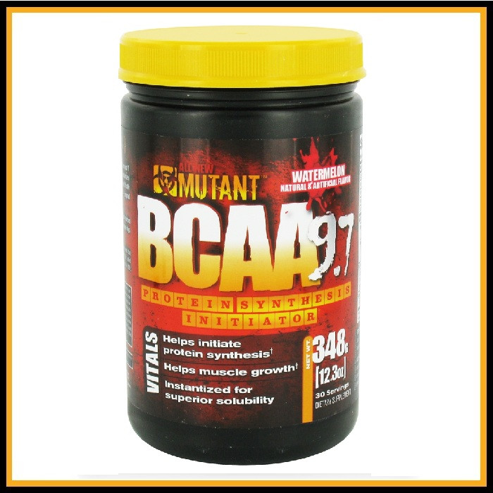 BCAA Mutant (348 g) (Фруктовый пунш)