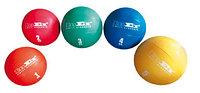 Мяч набивной - медицинбол (1кг), оранжевый