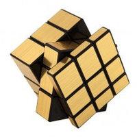 Кубик Рубика 3*3 зеркальный золото